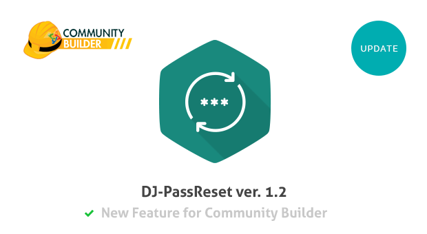 DJPassReset i Community Builder