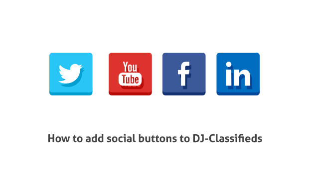 how to add social buttons
