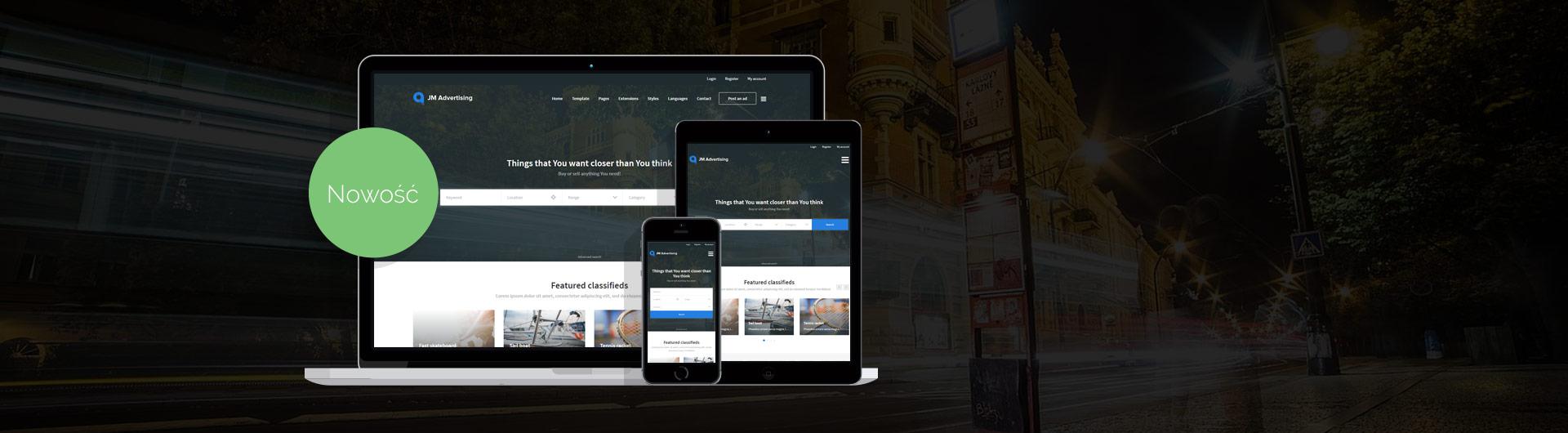 JM Joomadvertising - portal ogłoszeniowy