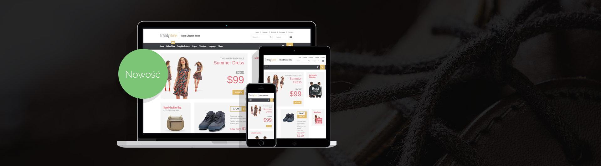 JM Trendy J2Store - sklep internetowy na Joomla