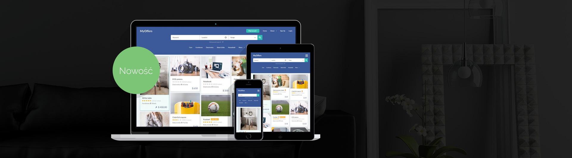 JM Myoffers - portal ogłoszeniowy